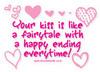 Fairy tale kiss
