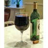 large glass of red wine