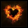 my ♥  is on fire