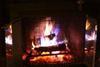 A nice warm fire.