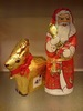 chocolate santa and raindeer