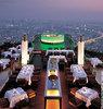 dinner at Sirocco, Bangkok