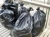 trash bags full of possibilities