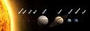 Нумерация планет 1-2-3-4-5-6-7-8-9 соответствует расположению в направлении...